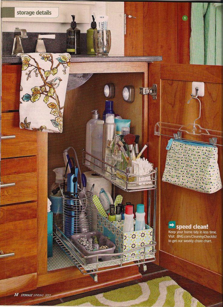 Ideas Organizar Baño:Ideas simples para decorar y organizar tu baño