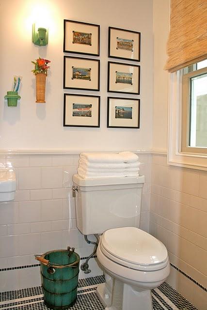 Decorar Un Baño Viejo:Ideas simples para decorar y organizar tu baño