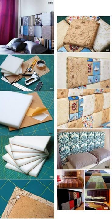 Como hacer una cabecera para tu sommier iguanablog for Como hacer una cabecera de cama