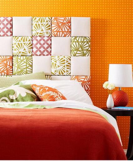 Como hacer una cabecera para tu sommier iguanablog - Como hacer un cabecero de cama economico ...