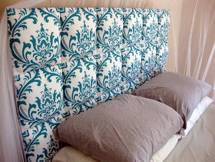 Como hacer una cabecera para tu sommier iguanablog - Telas para forrar cabecero cama ...