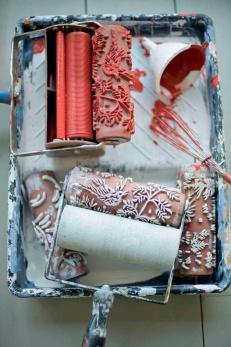 Rodillos con texturas